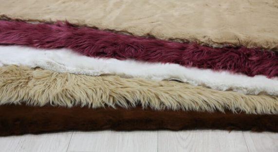 Pure wool carpets Fur carpets min